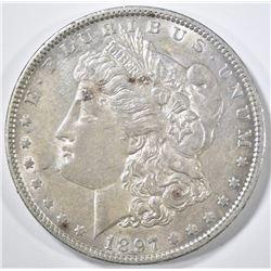 1897-O MORGAN DOLLAR CH AU
