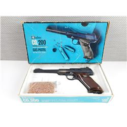 DAISY CO2 200 SEMI-AUTOMATIC GAS PISTOL .177 CAL BB IN BOX, WITH BB'S