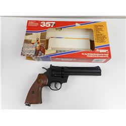 CROSMAN .177 CAL PELLET GUN 357 WITH BOX.