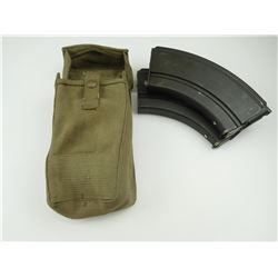 WWII CANADIAN BREN .303 LMG MAGAZINES WITH POUCH
