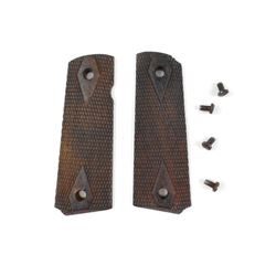 WOODEN PISTOL GRIPS FOR COLT 1911 TYPE