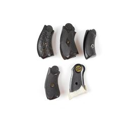 ASSORTED SMALL FRAMED HANDGUN GRIPS