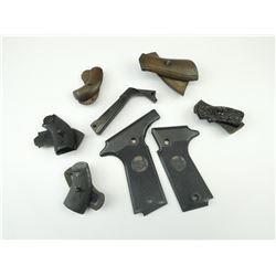 ASSORTED SMALL FRAME PISTOL GRIPS & TARGET GRIPS