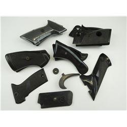 ASSORTED BLACK HAND GUN GRIPS