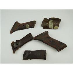 ASSORTED BROWN HAND GUN  GRIPS