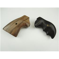 ASSORTED WOODEN HAND GUN GRIP'S