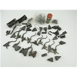 ASSORTED ROSS RIFLE PARTS