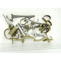 ASSORTED BLACK POWDER GUNSMITHING PARTS