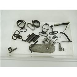 ASSORTED MAUSER RIFLE PARTS