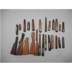 ASSORTED GUNSMITHING STOCKS/FORENDS