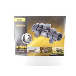 BRUSHNELL TROPHY 1X28MM RED/GREEN DOT SIGHT