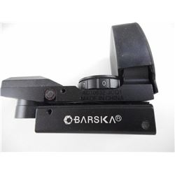 BARSKA ELECTRO SIGHT IN ORIGINAL BOX.
