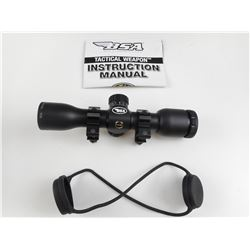 BSA TW4X30 SCOPE WITH RUBBERIZED BIKINI CAP AND IN ORIGINAL BOX