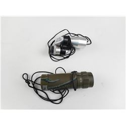 ASSORTED MONOCULAR SCOPES WITH CASES