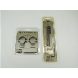 ASSORTED LEUPOLD SCOPE MOUNTS