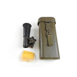 HENSOLDT 2.6X13 SCOPE WITH MOUNT AND CARRY CASE