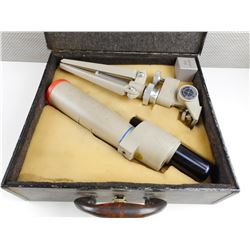 OPTEX SPOTTING SCOPE WITH TRIPOD IN TIN CASE