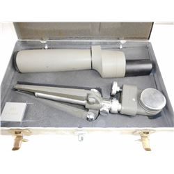 BUSHNELL SENTRY II SPOTTING SCOPE WITH TRIPOD AND CASE