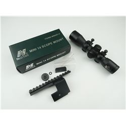NCSTAR 6X32 SCOPE AND SCOPE MOUNT