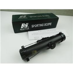 NCSTAR 4X22WA SPORTING SCOPE IN ORIGINAL BOX