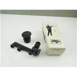 ANSHUTZ RIMFIRE REAR PEEP SIGHT IN ORIGINAL BOX