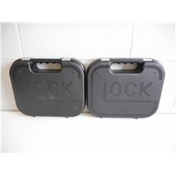 EMPTY GLOCK 22 HARD CASES
