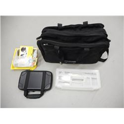 TRAVEL 2000 MUTLI PURPOSE BAG, CONTAINERS, SAFTEY GLASSES AND EAR PLUGS