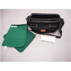 WALLIER MULTI PURPOSE DUFFLE TYPE CASE WITH FELT MATS AND WIPES.