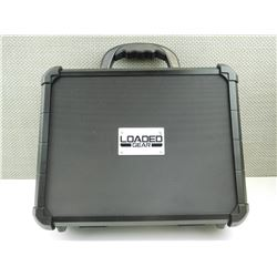 LOADED GEAR  HARD HANDGUN CASE WITH COMBINATION LOCK