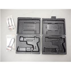 RUGER SEMI-AUTO PISTOL CASES WITH LOCKS AND KEYS