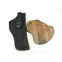 ASSORTED HANDGUN HOLSTERS