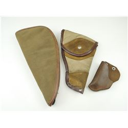 ASSORTED HOLSTER AND SOFT CASE