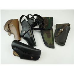 ASSORTED GUN HOLSTERS