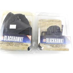 ASSORTED BLACKHAWK HOLSTERS