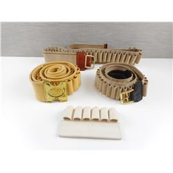 ASSORTED NYLON AMMO BELTS