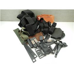 ASSORTED HOLSTER ACCESSORIES