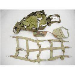 ASSORTED HARNESS, HOLSTERS AND POUCHES