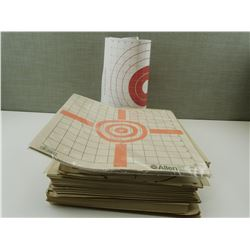 STACK OF SHOOTING TARGETS