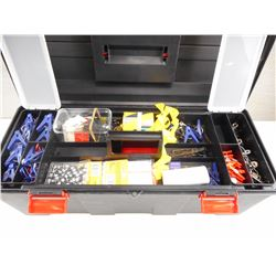 ASSORTED TRAIL MARKING SUPPLIES WITH TOOL CASE