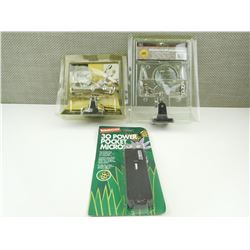 ASSORTED MICROSCOPES AND MAGNIFYING GLASSES, APPEAR NEW IN PACKAGES