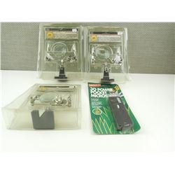 ASSORTED MICROSCOPES AND MAGNIFYING GLASSES, APPEAR NEW IN PACKAGES.
