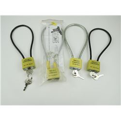 CABLE LOCKS WITH KEYS