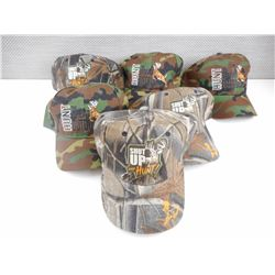 ASSORTED OUTDOORS CAMO PRINT HATS