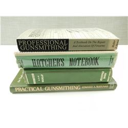 ASSORTED GUNSMITHING BOOKS