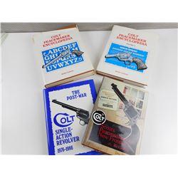 ASSORTED HAND GUN BOOKS