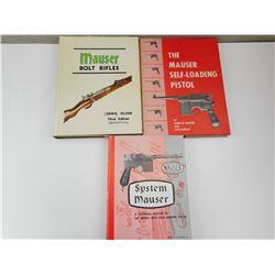 ASSORTED MAUSER BOOKS