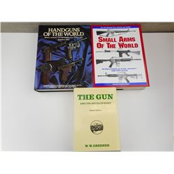 ASSORTED GUN BOOKS