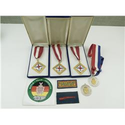 ASSORTED CANADIAN SMALL ARMS COMPETITION MEDALS