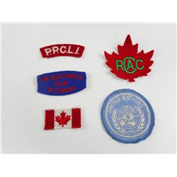 ASSORTED CANADIAN MILITARY BADGES
