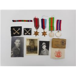 WWII MEDAL'S, STAR'S AND SOLDIER PHOTO'S
